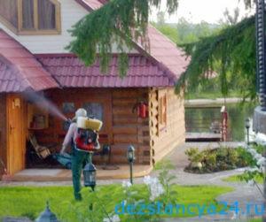 Фумигация деревянных домов