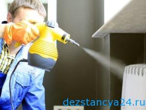 Уничтожения бактерий в квартире